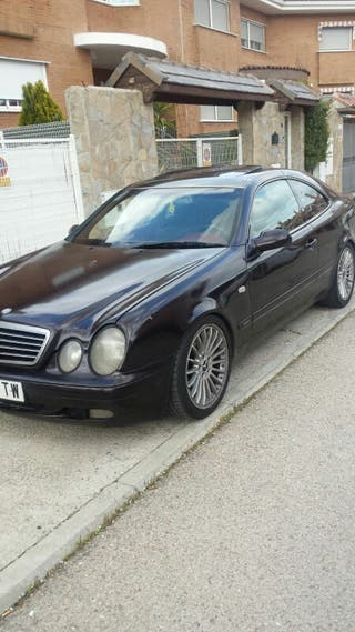 Mercedes-benz CLK 1998 motor 2000