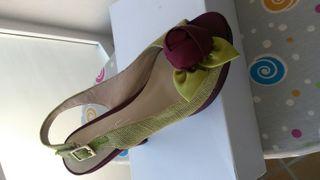zapato tacón 37 boda