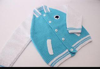 Chaqueta Crochet nueva hecha a mano