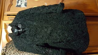 abrigo invierno negro Cachemira