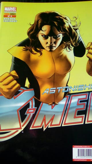 Cómics grapa Atonishing X Men