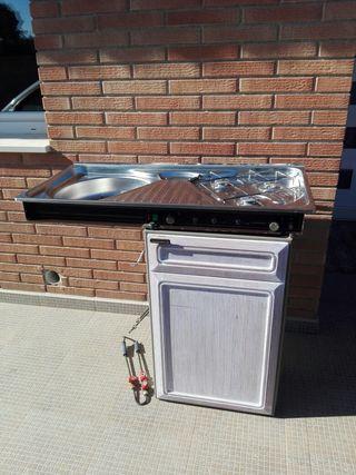 cocina compacta furgoneta