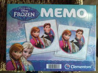 NUEVO. Juego memoria Frozen.CAJA SIN ABRIR!