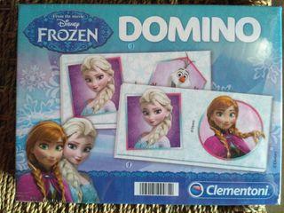 NUEVO Dominó Frozen. CAJA SIN ABRIR!