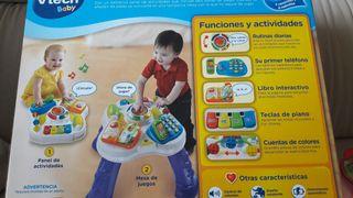 mesa actividades bebe 9-36 meses