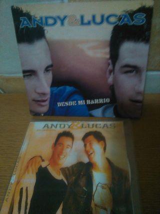 Cds Andy y Lucas