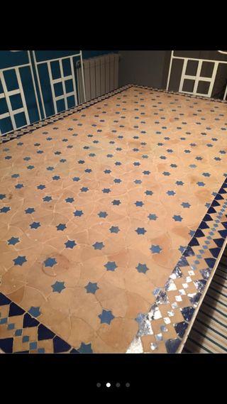Mesa hierro forjado y mosaico de segunda mano por 950 en villanueva del pardillo en wallapop - Mesas mosaico segunda mano ...