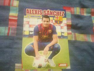 Póster Alexis Sánchez FC Barcelona