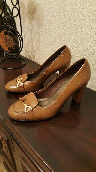 Zapatos tacón nuevos Zendra n°40