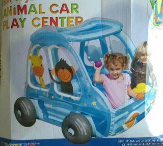 coche infantil inchable