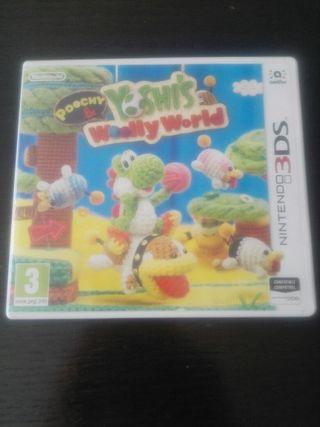 Nintendo3ds-YOSHI WOOLLY WORLD