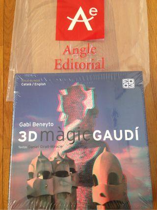 Llibre Gaudí màgic 3D