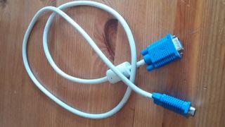 Cable para conectar pantalla a ordemador (CPU)