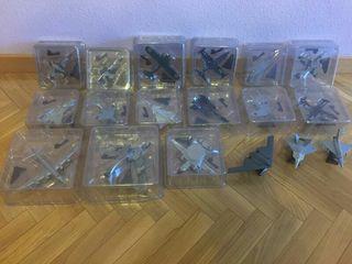 Colección aviones de metal