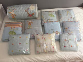 Juegos de cama y cuna habitación infantil