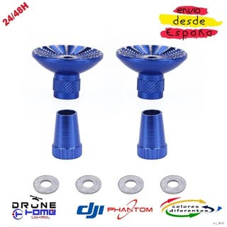 Azul DJI PHANTOM Joysticks de aluminio