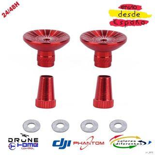 Rojo DJI PHANTOM Joysticks de aluminio