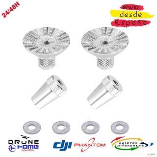 Blanco DJI PHANTOM Joysticks de aluminio