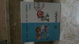 Libro infantil EL MIEDO