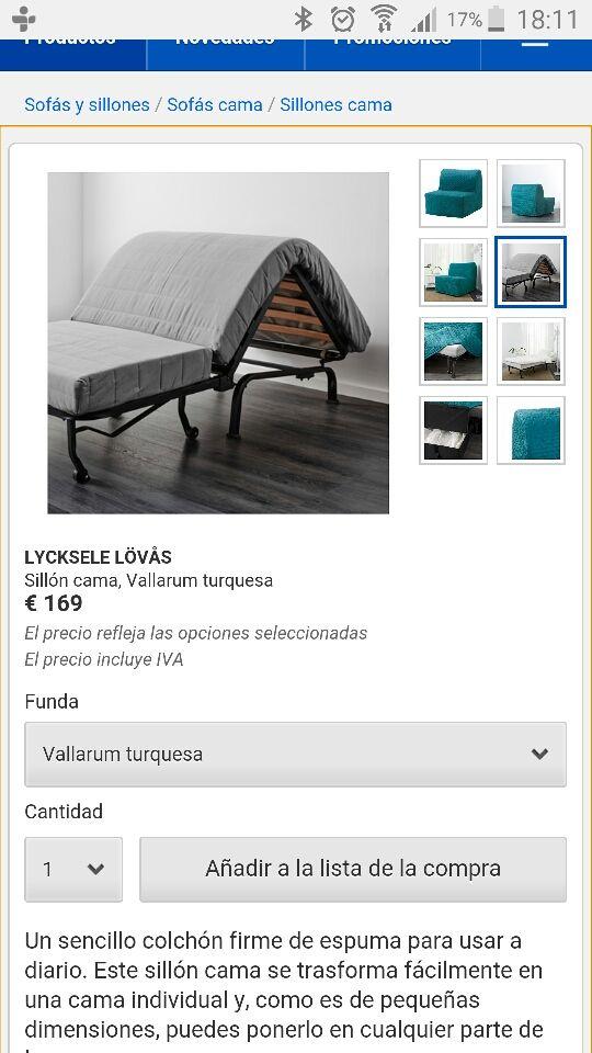 Sofa cama de ikea super barato