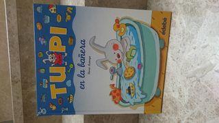 "Libro infantil ""TUPI EN LA BAÑERA"""
