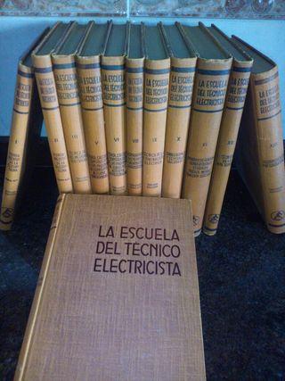 """Vendo Colección """"La escuela del técnico electricista"""""""