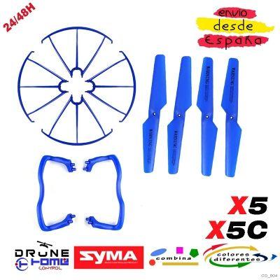 Set Azul Drone SYMA X5 X5C