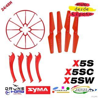 Set Rojo Drone SYMA X5S X5SC X5SW