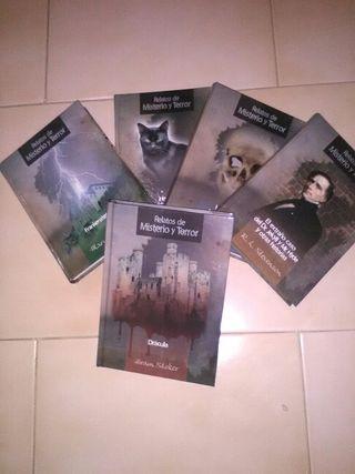 Libros misterio y terror