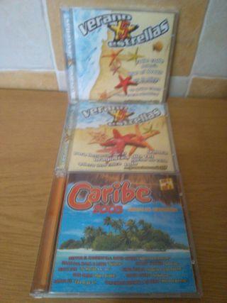 Cds verano 5 estrellas y Caribe 2005
