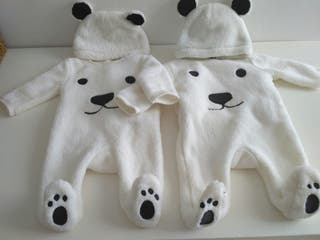 Sobrepijama polar mellizos o gemelos