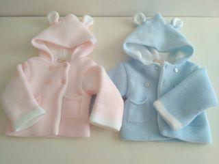 Abrigo bebé mellizos
