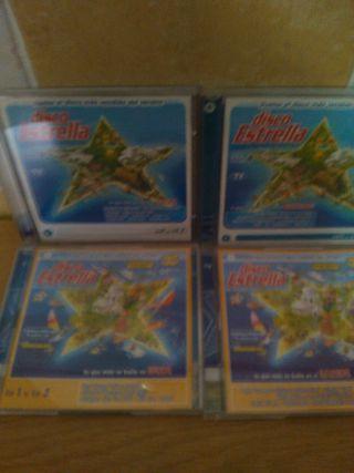 CDs disco estrella 2001 y 2002