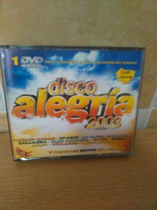 Cd disco alegría 2003