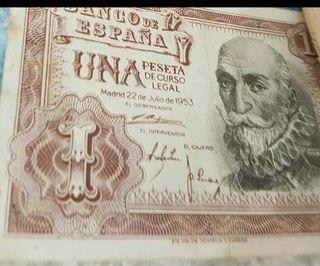 Billete de peseta para coleccionistas