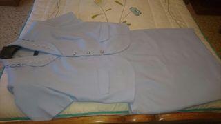 Traje ceremonia mujer 54 azul marino