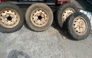 ruedas de todo terreno cubiertas nuevas