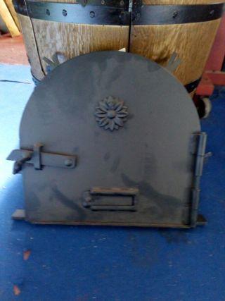 puerta de horno