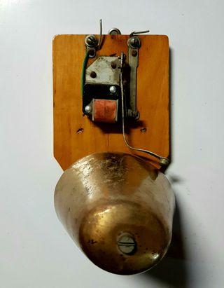 Timbre campana antiguo usado 220v