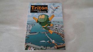 Libro cuento Tritón y el Puerto de Valencia