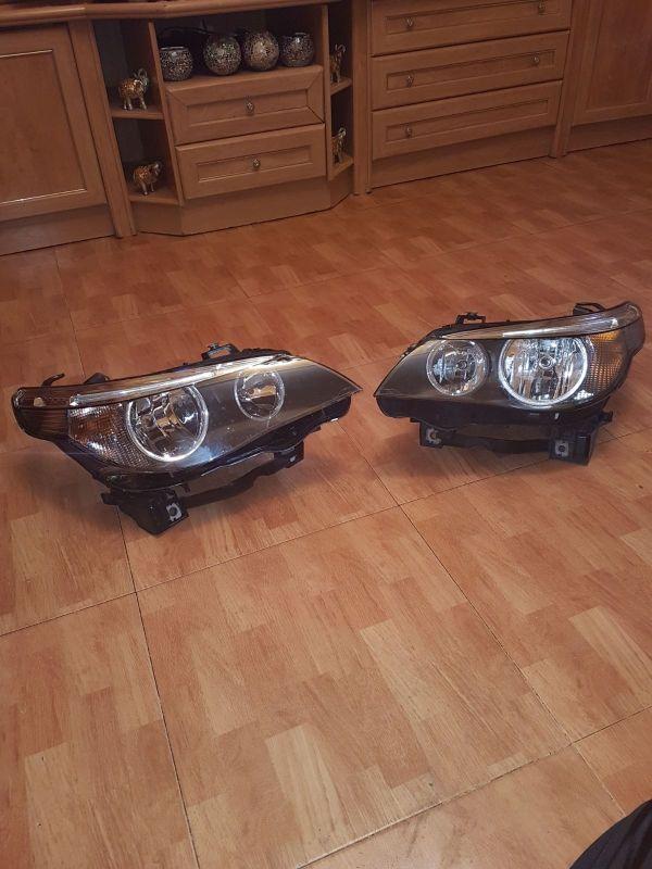 faros BMW xenon Serie 5 530 535 520 525 año 2008 p
