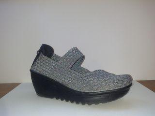 zapatos bernier mujer cuña 40