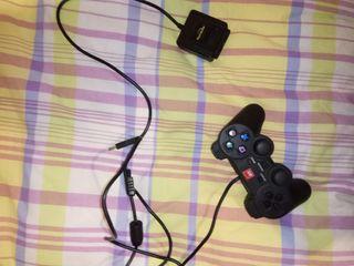 Mando Ps2 con adaptador USB para PC