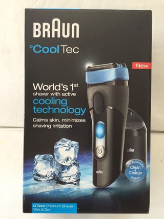 Afeitadora Braun CoolTec CT2cc