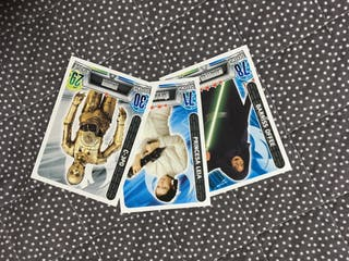 Cards Star Wars Carrefour Lote Cromos Postales