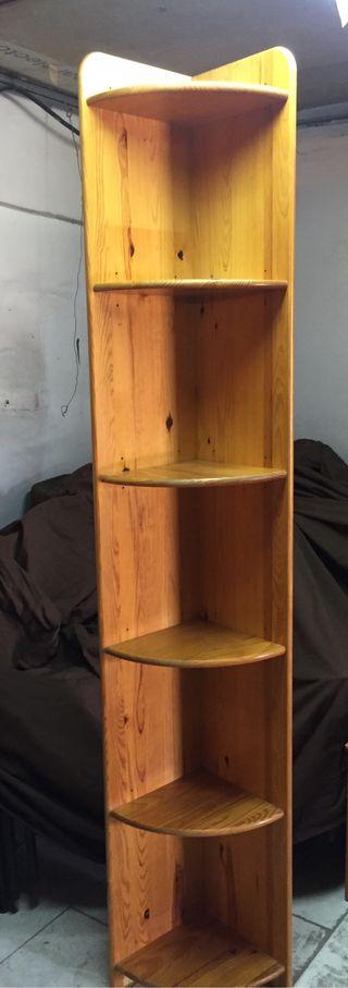 Estanteria de madera maciza