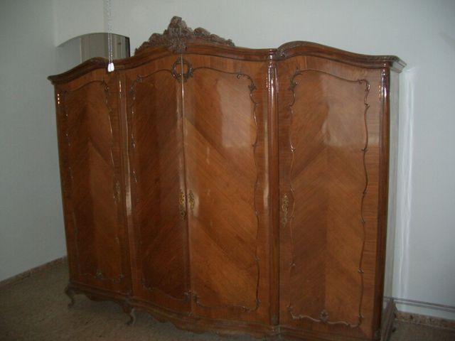 Muebles antiguos nogal espa ol de segunda mano por - Muebles antiguos valencia ...