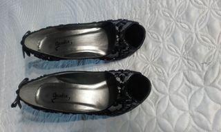 zapatos encaje