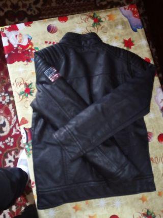 chaqueta de cuero