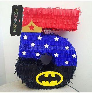 piñatas superhéroes